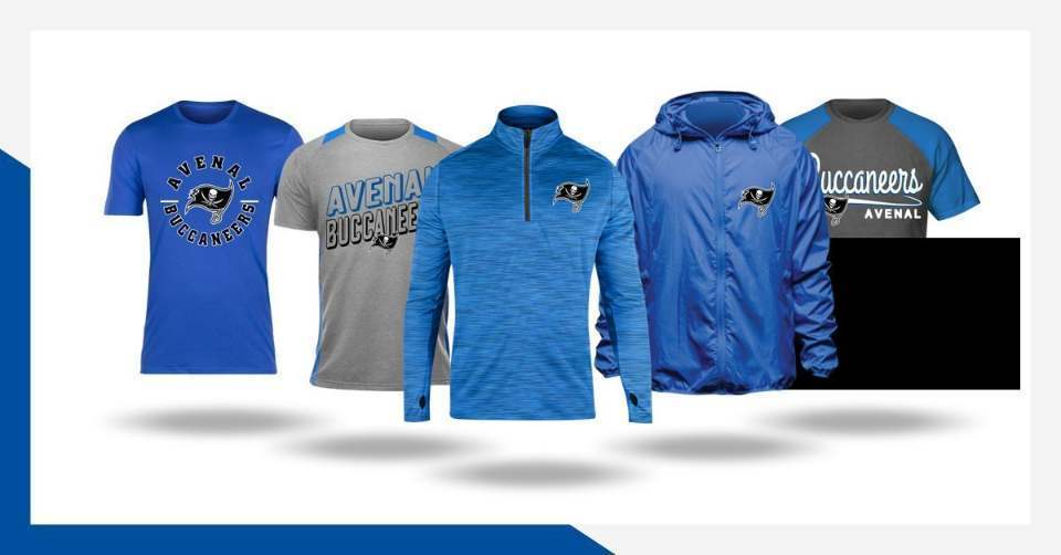 Avenal Buccaneers apparel now on sale through our Fancloth shop!